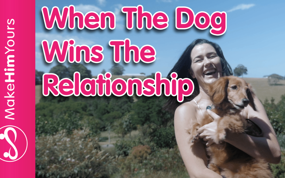 When Her Dog Wins The Relationship